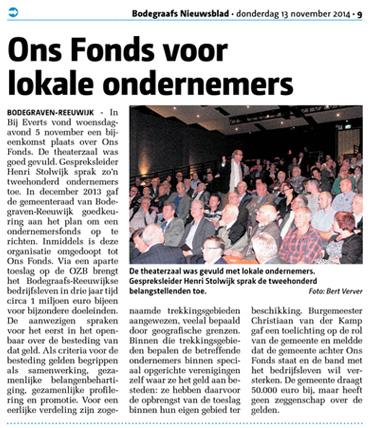 Ons-Fonds-Bodegraafs-Nieuwsblad-november-2014